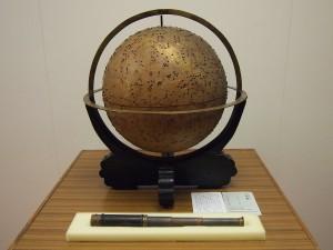 渋川春海製作の天球儀